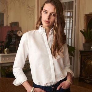 Sezane White Shirt